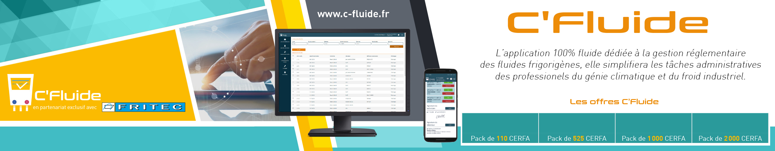 Application C'fluide